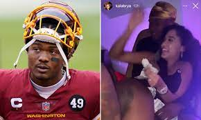 QB Dwayne Haskins is released by ...
