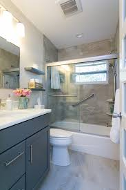 rustic gray bathroom vanities. Grey Bathroom Vanity Transitional With Bathtubshower Combo Beige Rustic Gray Vanities A