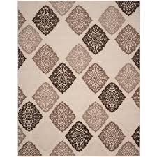 safavieh cottage cream gray 8 ft x 10 ft indoor outdoor rectangle