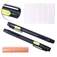 fabric chalk pen details about tailors chalk pen marker pencil sewing fabric leather sew cloth marking