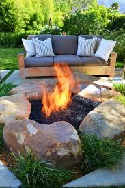 diy outdoor gas fireplace ideas