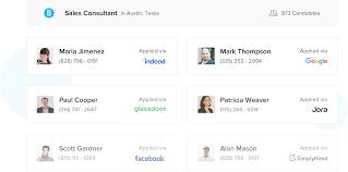 betterteam candidate list screenshot