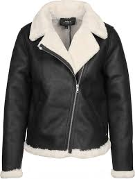 obey chloe moto w faux leather jacket