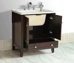 All In One Bathroom Stufurhome Gm Y01 305 Inch Manhattan Single Laundry Vanity In