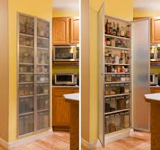 Modern Kitchen Pantry Cabinet Cool And Practical Pantry Cabinet Design Ideas Simple Long Wooden