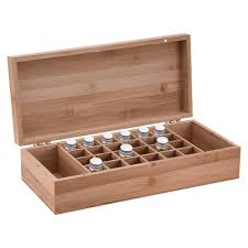 2019 bamboo essencial oils storage box with 26 grids diy protective wooden storage case for artistic ornament decorative from aozhouqie 29 89 dhgate com