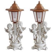 cherub angel lamp