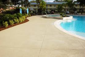 concrete coating pool deck alternate view