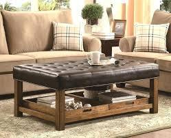 ottoman as coffee table round ottoman coffee table storage ottoman as coffee table