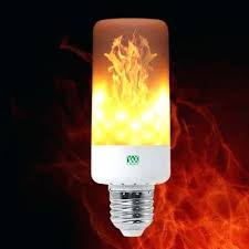 light bulbs that look like flames led light bulb leaping flickering flame