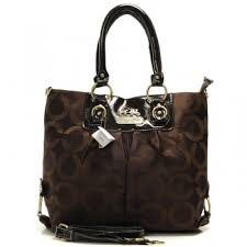 Coach Logo Monogram Large Coffee Totes BNH