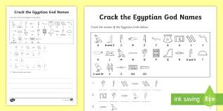 Hieroglyphics Translation Chart Alfreddean Club
