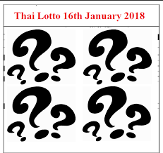 Thailand Lottery Results 16th January 2018 Thai Results