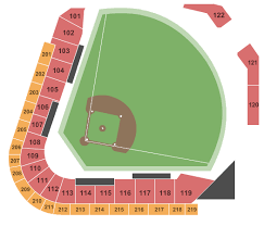5 3 Field Toledo Ohio Seating Chart Fifth Third Field Seating Chart Toledo