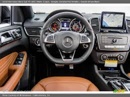 Disco duro para archivos multimedia. Dashboard Of 2018 Gle 43 Amg 4matic Coupe Mercedes Benz Gle Mercedes Benz Coupe