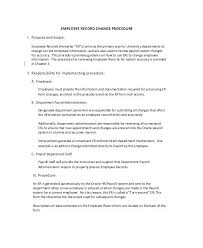 Employee Change Form Template More From Business Update Getflirty Co