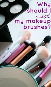 wash my makeup brushes