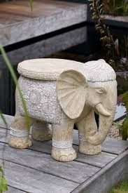 Iyara craft tealight candle holders with candle tray set of 3 decorative candle holders matte wood finish with inlaid aluminum antique elephant intricate details. Buy Elephant Side Table From The Ieee Biometrics Online Shop