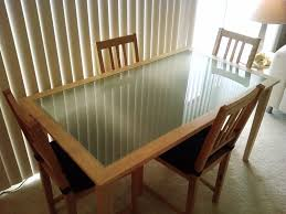 stunning wood and glass dining table or ikea glass top dining table glass top dining tables