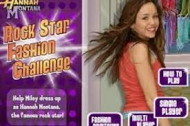 the game miley cyrus celebrity rockstar fashion challenge