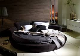 Bedroom:Divine Round Bed Frame And Mattress Ikea Circular Circle Set  Turning Exciting Round Bed