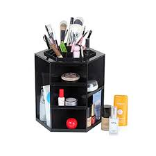 amazon com doris batchelor nice makeup organizer box brush holder jewelry organizer case jewelry makeup cosmetic storage box black office s