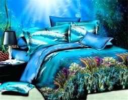 medium image for ocean blue duvet covers ocean scene duvet covers fast dthe undersea world