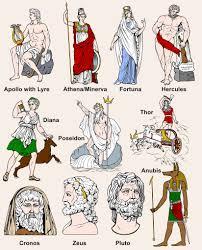 Greek Vs Roman Gods In 2019 Greek Gods Greek Mythology