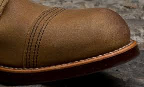 by doing so we avoid splitting or thinning our full grain hides this makes our roughout leather just as strong and durable as our other leathers