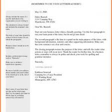 Professional Business Letter Template Best Business Letter Template ...