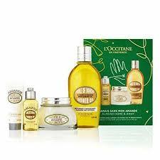 l occitane almond home away 4pc gift