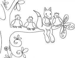 Coloring Pages Woodland Animals Archives - Mente Beta Most ...