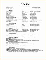 Resume Music Pageant resume templates best of music resume template resume 37