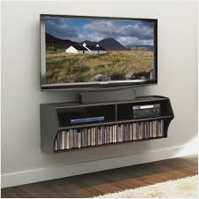 shelf for cable box under wall mounted tv tv wall mount ideas