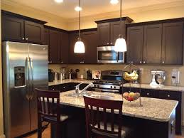 Espresso Painted Cabinets How To Refinish Kitchen Cabinets Espresso