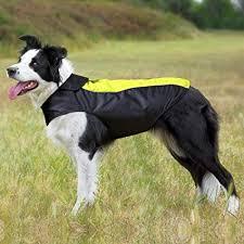 Greendog Size Chart Bseen Dog Raincoat Dog Jacket Dog Waterproof Windproof Reversible Coat Pet Raincoat Warm Fleece Lined Night Safety Reflective Piping For Small Medium