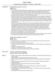 Policy Analyst Resume Sample Operations Policy Analyst Resume Samples Velvet Jobs 1