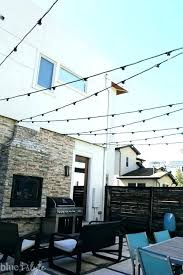 How To Hang Outdoor String Lights Enchanting How To Hang Outdoor String Lights How To Hang Outdoor String Lights