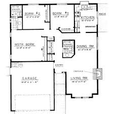 bungalow floor plans. Interesting Bungalow House Plans 3 Bedroom 5 Floor On Modern Decor Ideas