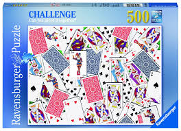 """<b>Пазл Ravensburger</b> """"Игральные карты"""" <b>500</b> шт арт.14800 ..."""