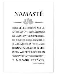 Premium Poster Yoga Namasté Abouki Art Factory