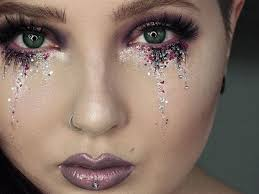 glitter tears your festival makeup must