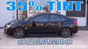 35 window tint wrx. Interesting Window Tinting A 2017 Subaru Wrx In 35 Ceramic Film Winning Window Tint With 35 Window Tint Wrx O