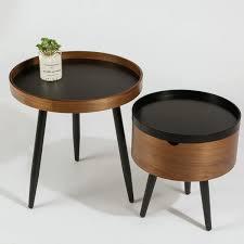 storage tray tabletop metal legs