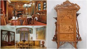 Beautiful examples of Art Nouveau furniture a radical design