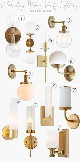 Mid Century Modern Lighting For A Bathroom Darling Down South