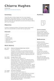 Fashion Stylist Resume Examples - Examples of Resumes