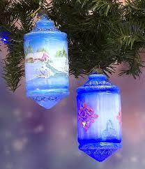 German Glass Christmas Ornaments - Project by DecoArt
