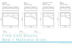 Bed And Mattress Sizes