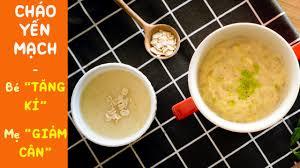Cách nấu cháo yến mạch dinh dưỡng | Ăn dặm cho bé - Giảm cân cho mẹ -  YouTube